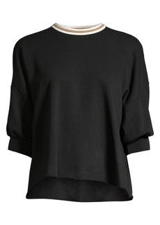 Joie Keilani Puff Sleeve Sweatshirt