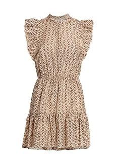 Joie Krystina C Zigzag Dress