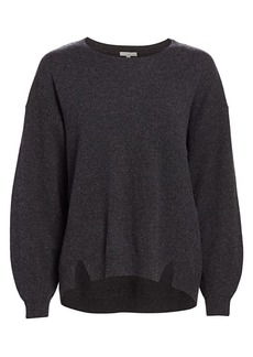 Joie Kyran Bishop-Sleeve Wool Sweater