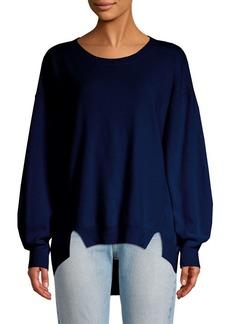 Joie Kyran Bishop-Sleeve Wool Sweater