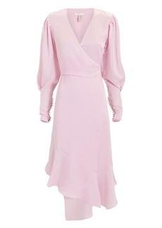 Joie Kyrene Wrap Midi Dress