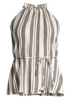 Joie Larkyn Striped Halter Top