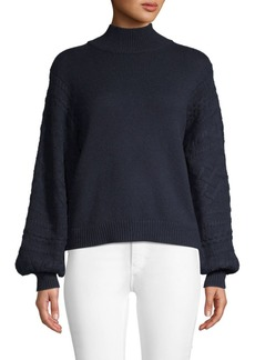 Joie Lathen Wool & Yak Hair Sweater