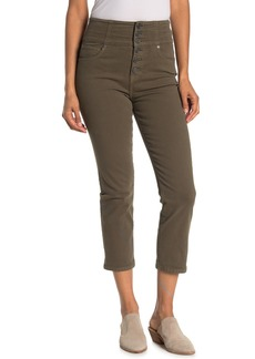 Joie Laurelle Cropped High Waisted Pants