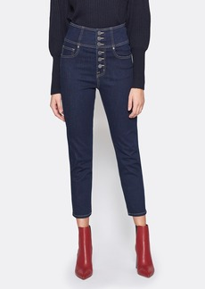 Joie Laurelle High Waist Cropped Skinny Jeans