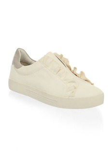 Joie Leather Slip-On Sneakers