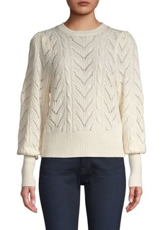 Joie Leti Cable Knit Sweater