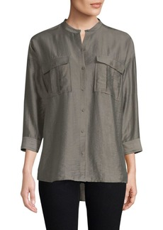 Joie Lidelle Cotton Blouse