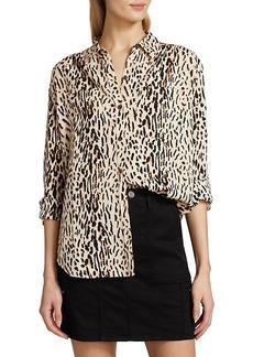 Joie Lidelle Leopard Blouse