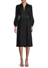 Joie Linaeve Button-Front Dress
