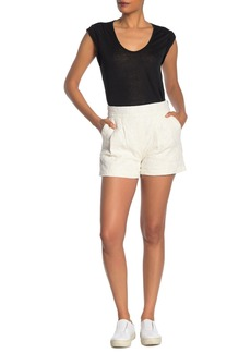 Joie Lisley Embroidered Shorts