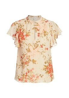 Joie Marlina B Floral Blouse
