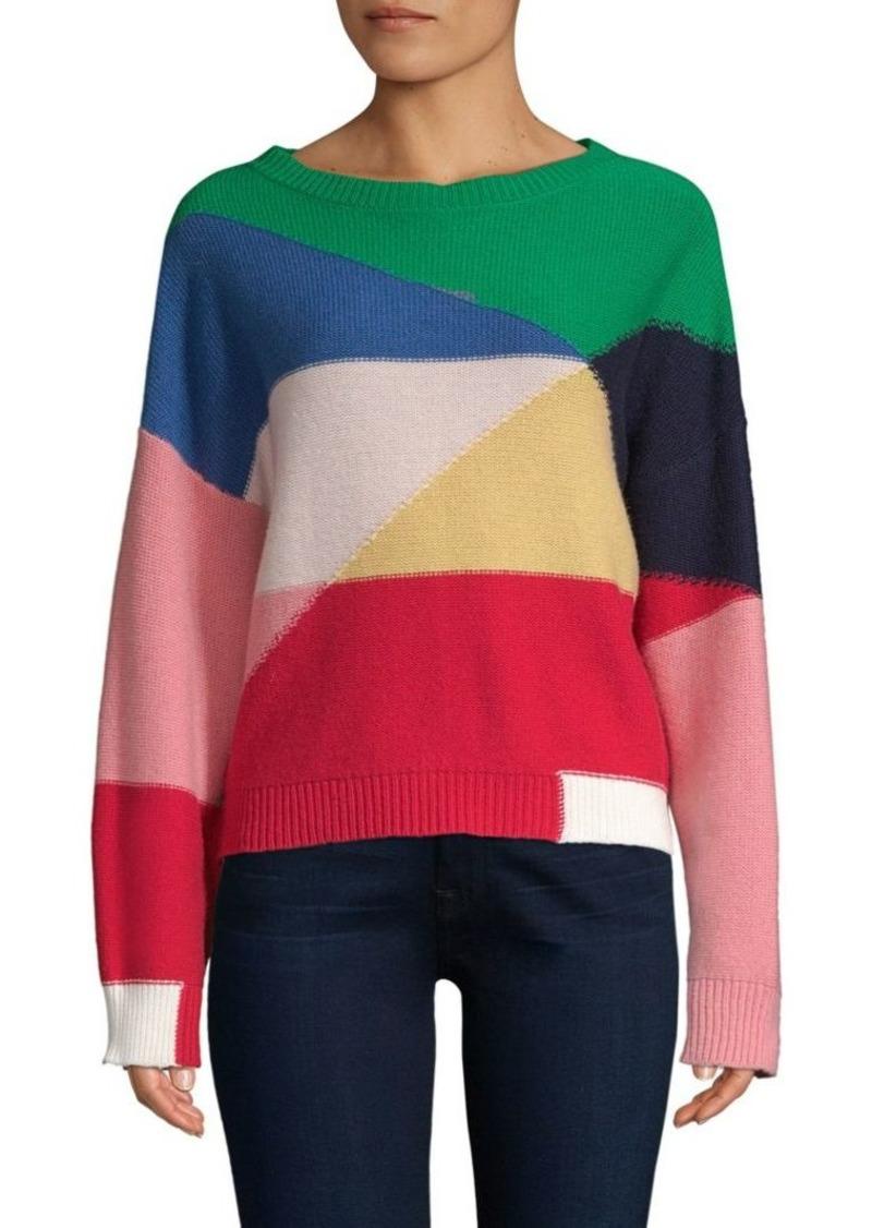 c373b0c9f Joie Megu Colorblock Knit Pullover