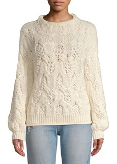 Joie Minava Cable-Knit Sweater