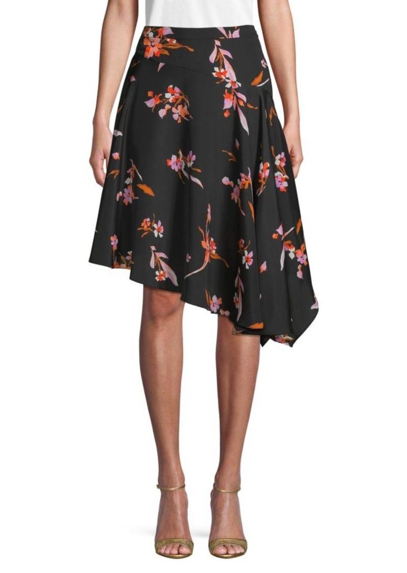 Joie Moni Floral Asymmetrical Skirt