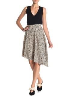 Joie Moni Printed Asymmetrical Skirt
