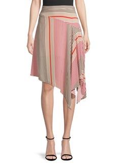 Joie Moni Printed Handkerchief Skirt