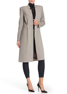 Joie Paiton Long Plaid Jacket