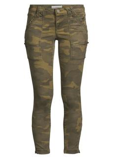 Joie Park Camo Skinny Cargo Pants