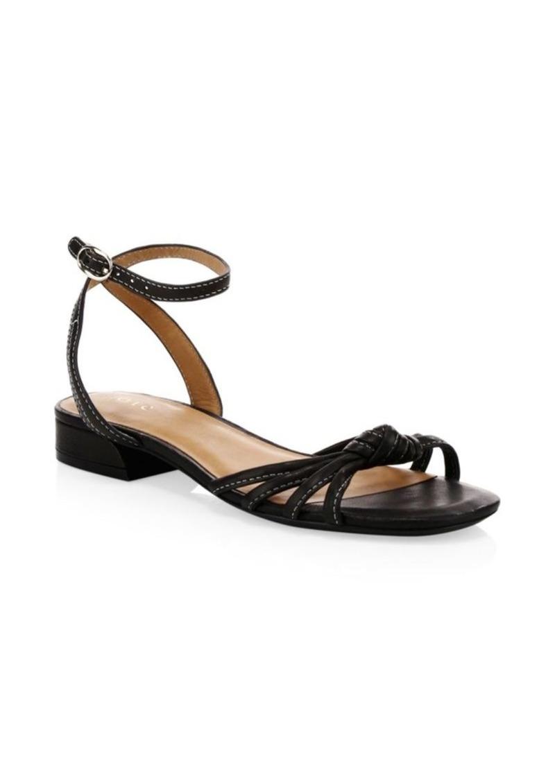 Joie Parsin Leather Gladiator Sandals