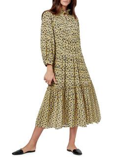 Joie Pismo Floral Midi Dress
