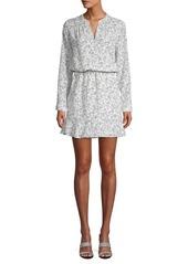 Joie Printed Blouson Dress