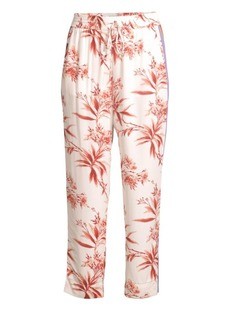 Joie Quisy Cropped Floral & Stripe Pants