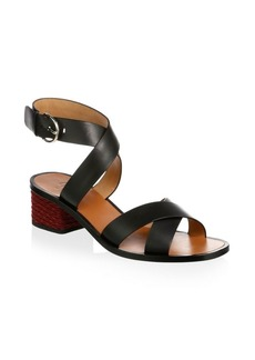 Joie Rana Leather Ankle Strap Sandals