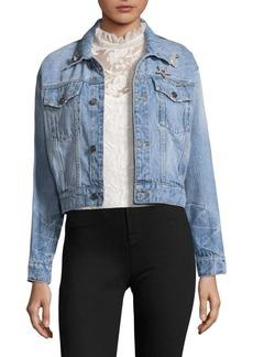 Joie Redmondia Cropped Denim Jacket