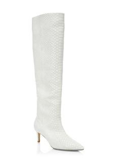 Joie Revet Snake Print Tall Boots