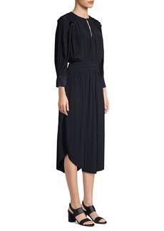 Joie Rheia Pleated Midi Dress