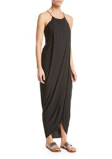 Joie Serlina Draped Sleeveless Maxi Dress