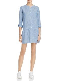 Soft Joie Amiri Drop-Waist Shirt Dress