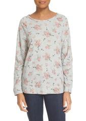 Soft Joie 'Annora B' Floral Print Sweatshirt