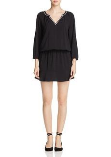 Soft Joie Avangeline Contrast-Trim Dress