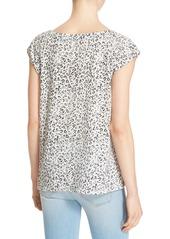 Soft Joie 'Aviya' Animal Print Cotton Knit Top