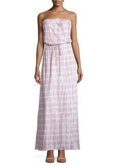 Soft Joie Cahya Tie-Dye Strapless Maxi Dress