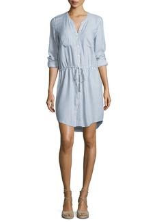 Soft Joie Cassina Striped Cotton Shirtdress