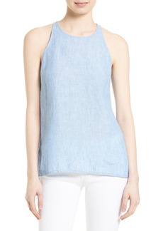 Soft Joie Dany Linen Chambray Top