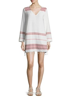 Soft Joie Daralina Embroidered Cotton Tunic/Dress