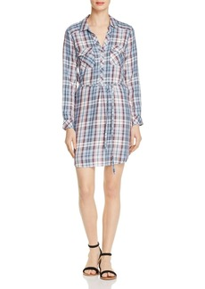 Soft Joie Dashalynn Plaid Shirt Dress