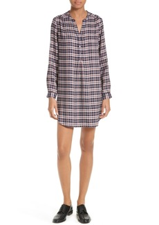 Soft Joie Daysa Plaid Shirtdress