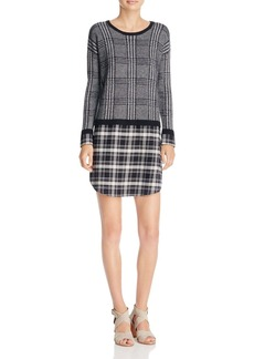Soft Joie Dinay Layered-Look Dress