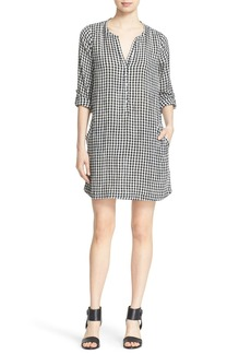 Soft Joie 'Eguine' Gingham Shirtdress
