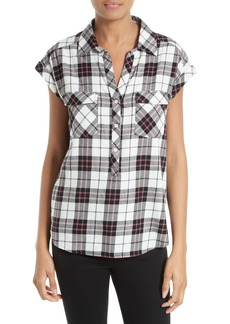 Soft Joie Johnesha Plaid Popover Shirt