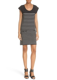 Soft Joie 'Kaelem' Stripe Cotton T-Shirt Dress