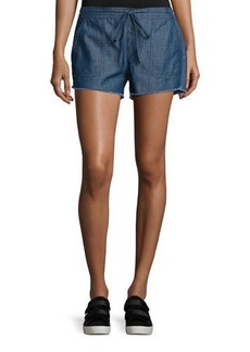 Soft Joie Kalpana Chambray Drawstring Shorts