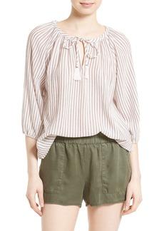 Soft Joie Legaspi Stripe Peasant Top