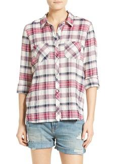Soft Joie Lilya Plaid Shirt