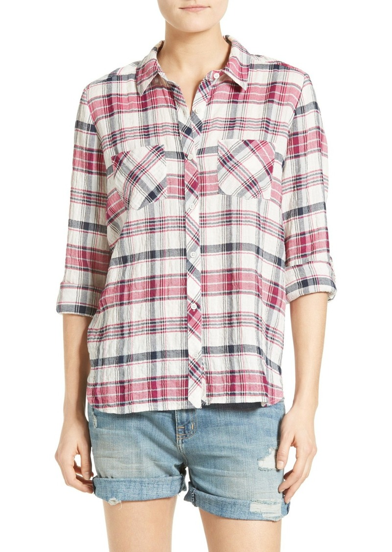 Sale joie soft joie lilya plaid shirt for Soft joie plaid shirt
